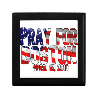 Pray For Boston Jewelry Boxes