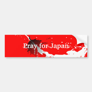 Pray for Japan Bumper Sticker