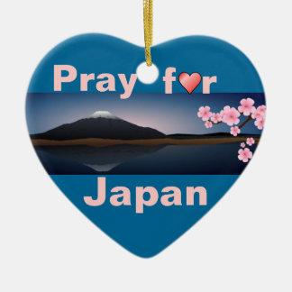 Pray for Japan ornament