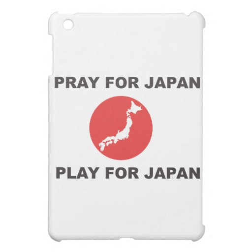 PRAY FOR JAPAN, PLAY FOR JAPAN. iPad MINI CASES