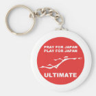 PRAY FOR JAPAN, PLAY FOR JAPAN. (ULTIMATE) KEY RING