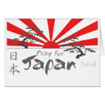 Pray for Japan with the Rising Sun Cards