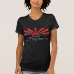 Pray for Japan with the Rising Sun Tshirt
