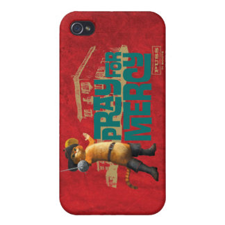 Pray for Mercy (blue) 2 iPhone 4 Case