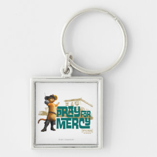 Pray for Mercy (blue) 2 Key Ring