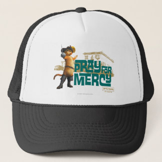 Pray for Mercy (blue) 2 Trucker Hat