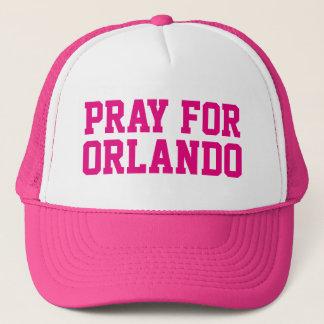 PRAY FOR ORLANDO TRUCKER HAT