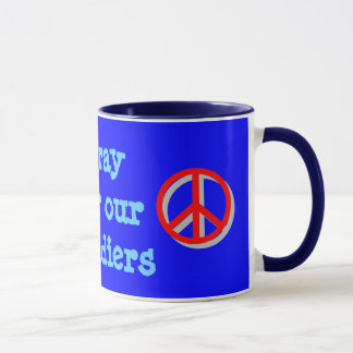 pray for our soldiers mug