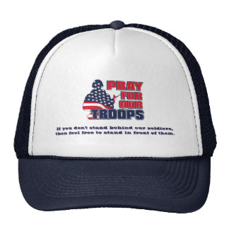 Pray For Our Troops Cap