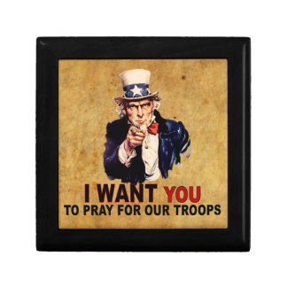 Pray For Our Troops Gift Boxes