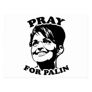Pray for Palin Postcard