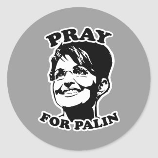 Pray for Palin Stickers