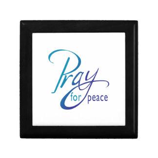 PRAY FOR PEACE TRINKET BOX
