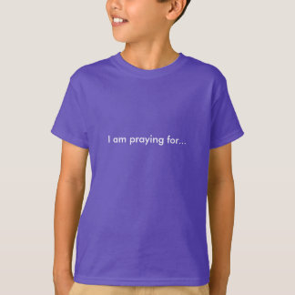 Pray for Reese and Patricia! Children's T-Shirt