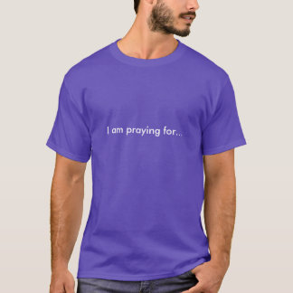 Pray for Reese and Patricia! Men's T-Shirt