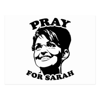 Pray for Sarah Postcard