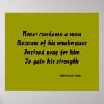 pray for strength print
