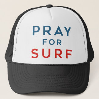 Pray for Surf Trucker Hat