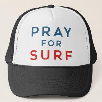 Pray for Surf Trucker Hat