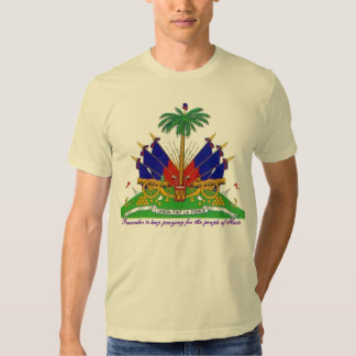 pray for the people of haiti t-shirt