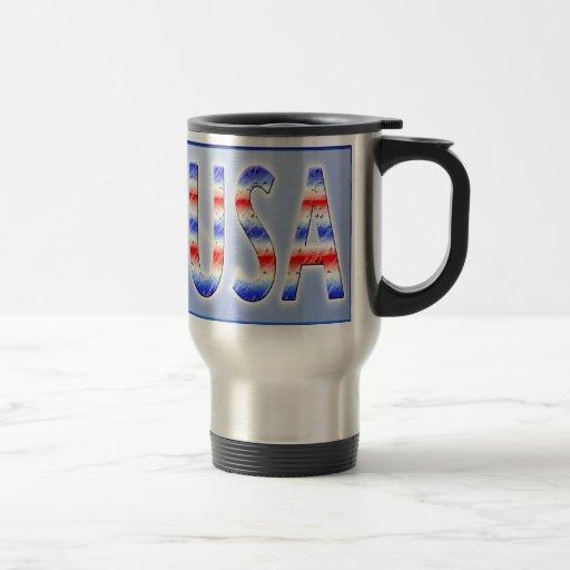 PRAY for USA Coffee Travel Mug Mugs