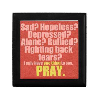 Pray Trinket Boxes