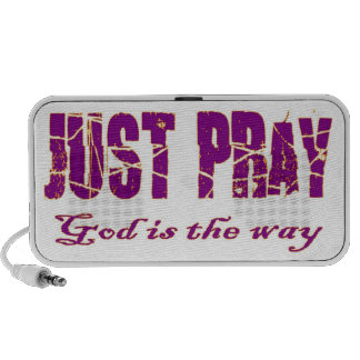 Pray, God is the way Mp3 Speakers