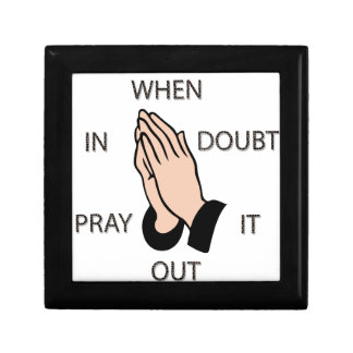 Pray It Out Jewelry Boxes