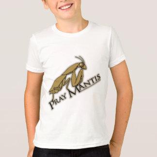 Pray Mantis brown boys insect t-shirt