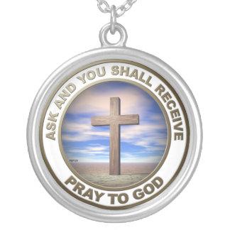 Pray To God Custom Necklace