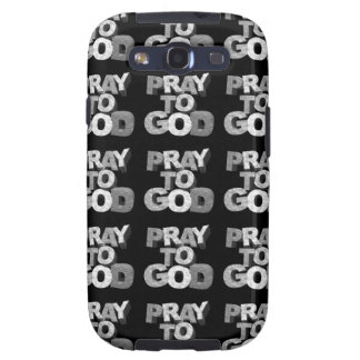 Pray To God Galaxy S3 Covers