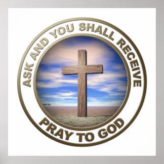 Pray To God Poster