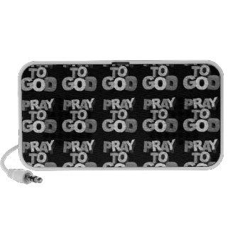 Pray To God iPod Speakers