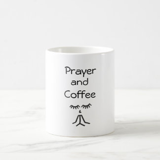 Prayer and Coffee Coffee Mug