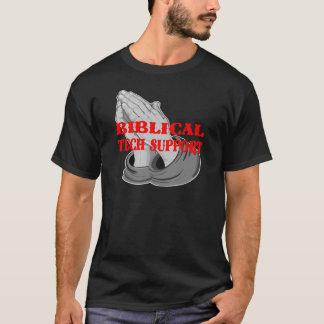 Prayer Biblical Tech Support T-Shirt
