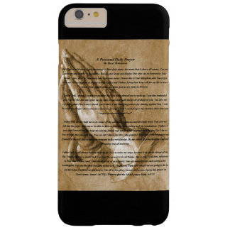 Prayer black phone case
