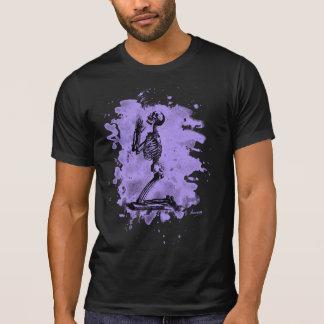 Prayer - bleached violet tee shirt