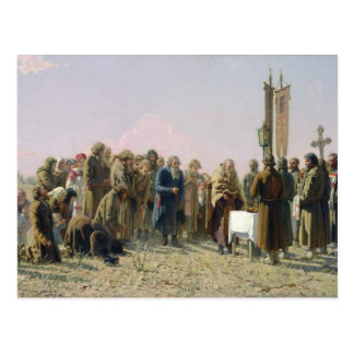 Prayer During the Drought 1880 Postcards