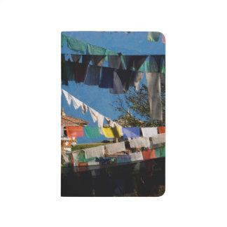 Prayer flags and chortens journal
