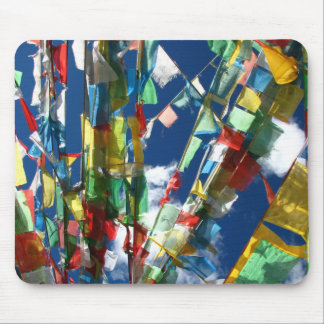 Prayer flags mousepad