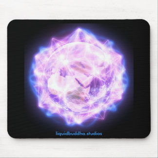 Prayer for Gaia mousepad, branded Mouse Mat