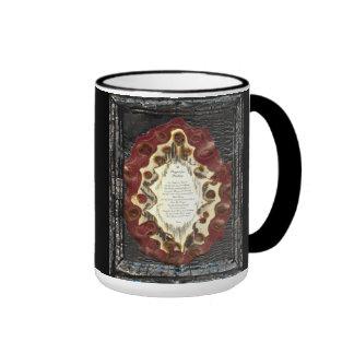 Prayer for Healing Ringer Coffee Mug