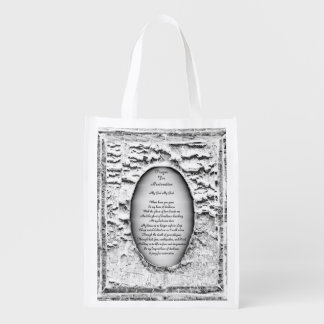 Prayer For Restoration Reusable Grocery Bag