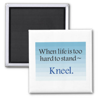 prayer gifts square magnet