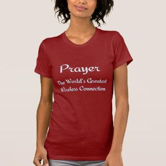 PRAYER - Greatest Wireless Connection T-shirt