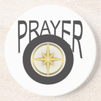 prayer hub beverage coasters