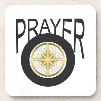 prayer hub drink coasters