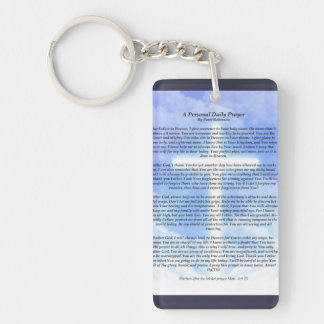 Prayer Key Chain