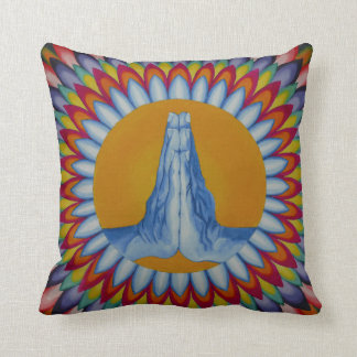 Prayer Mountain Throw Pillow