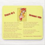 """Prayer of a Fireman's Wife"" Mousepad"